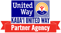 Kauai United Way Partner Agency Dark Badge