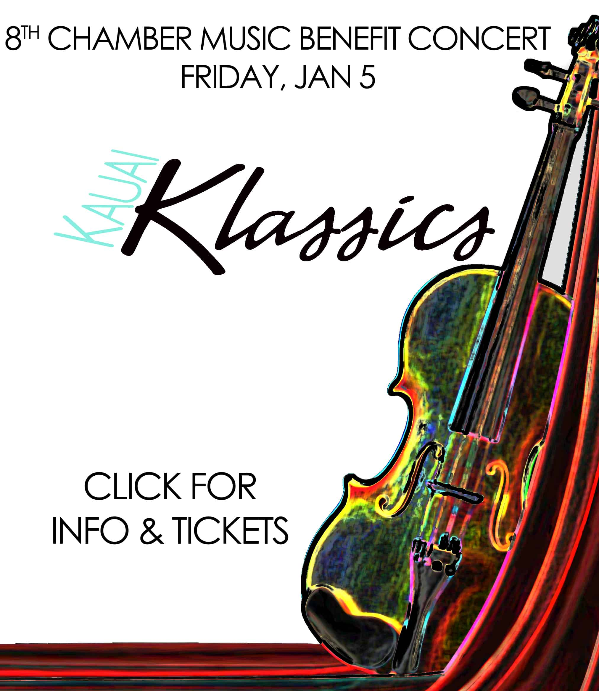 Kauai Klassics: 8th Chamber Music Benefit Concert