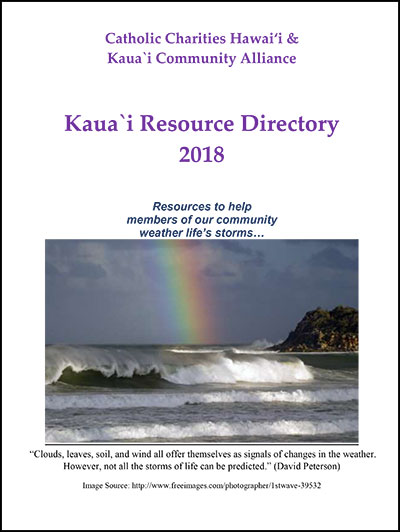 Kauai Resource Directory 2018 Edition